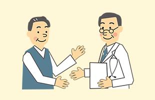 かかりつけの医院に受診の際、同意書の記載をお申込みください。お受け取り次第ご連絡ください。