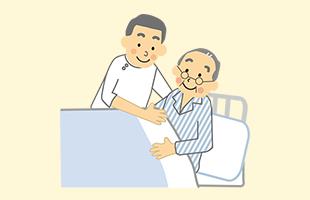 ご利用者様の症状に合わせ、治療とスケジュールをご相談の上、マッサージ師が訪問いたします。